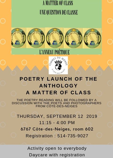 Poetry Book launch
